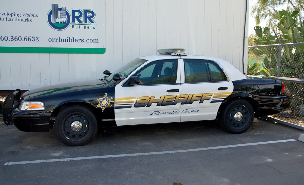 California Sheriff S Car