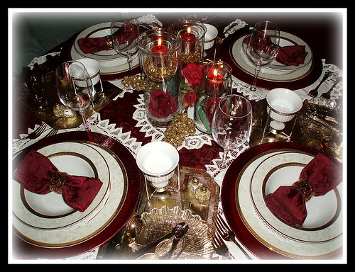Burgundy Table Setting by dining delight : 31843965889fd8d26467 from www.flickr.com size 500 x 384 jpeg 167kB