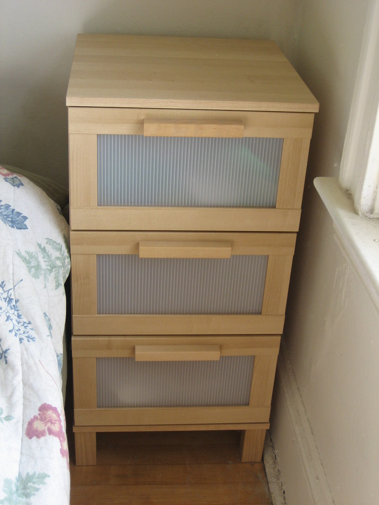 sold ikea aneboda 3 drawer chest 30 originally 50 n flickr. Black Bedroom Furniture Sets. Home Design Ideas