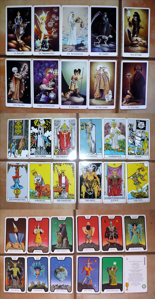 Tarot Cards @ Vanessa's House
