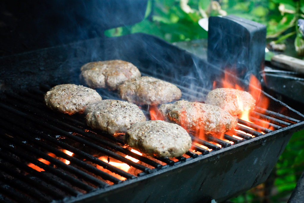 how to cook burgers on a grill pan