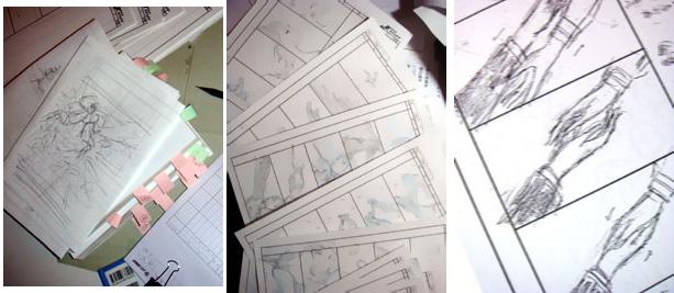 090617 - 動畫監督「幾原邦彥」為了7月TVA動畫的OP分鏡而萬分苦惱。漫畫家「二之宮知子」急性盲腸炎住院,『交響情人夢』因故休載