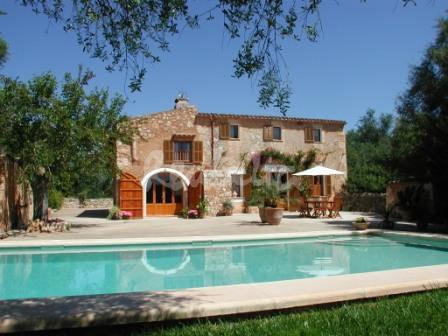 Casa rural en mallorca casa y piscina espectacular - Casa rural bellver de cerdanya ...