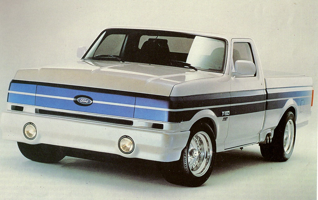 "New Ford F150 >> 1990 Ford F-150 ""Street"" Pickup Truck (Concept Truck) 