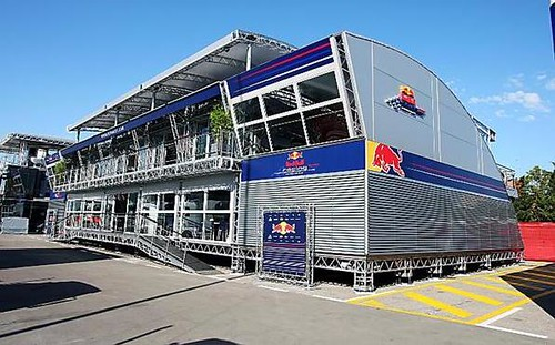 Red Bull Motor Home Red Bull Motor Home At The 2009