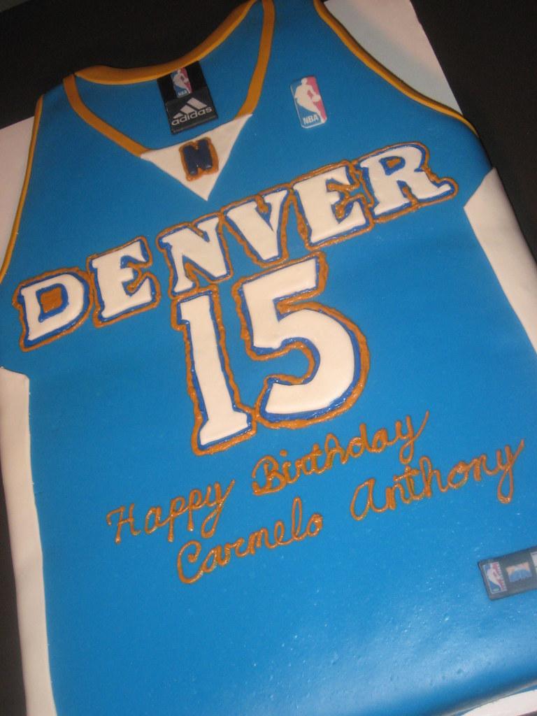 Carmelo Anthony Birthday Cake