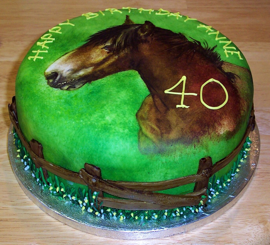 Horse Cake Andrea Moore Flickr