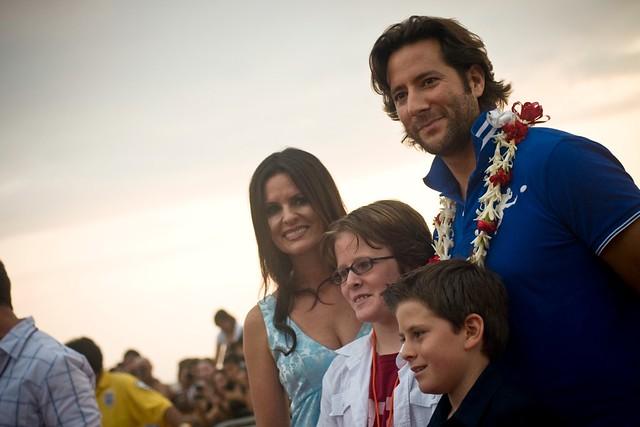 Henry Ian Cusick Family