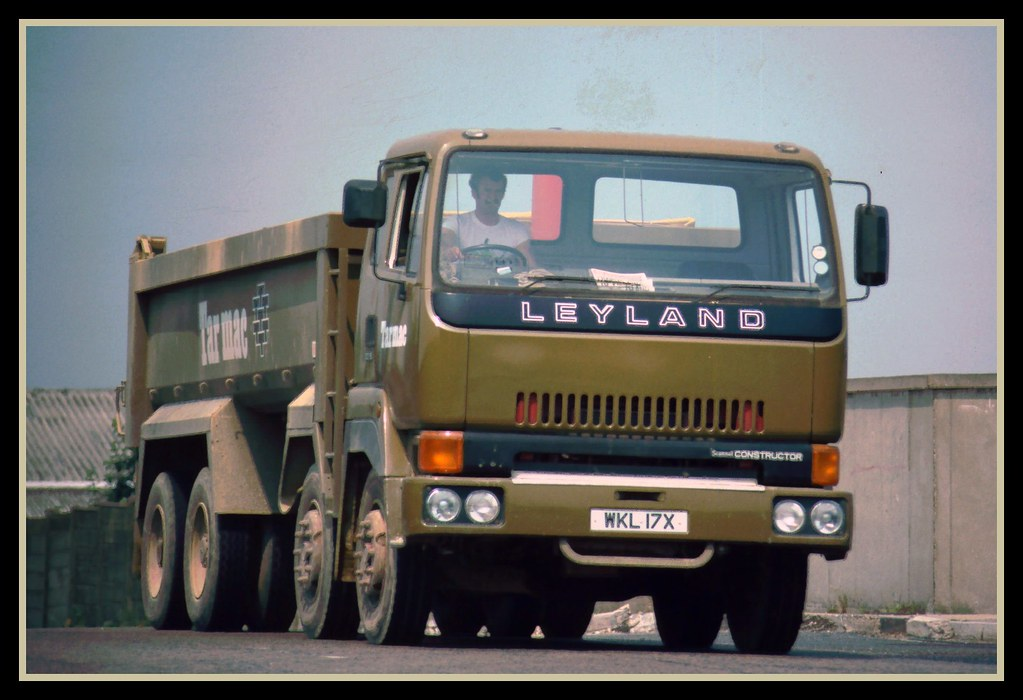 Leyland T45 Constructor 30 19 Tipper A Rare 30 19