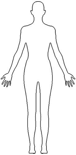 female outline