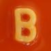 spaghetti letter B