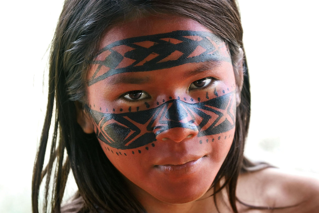 Traditional Cherokee Face Paint