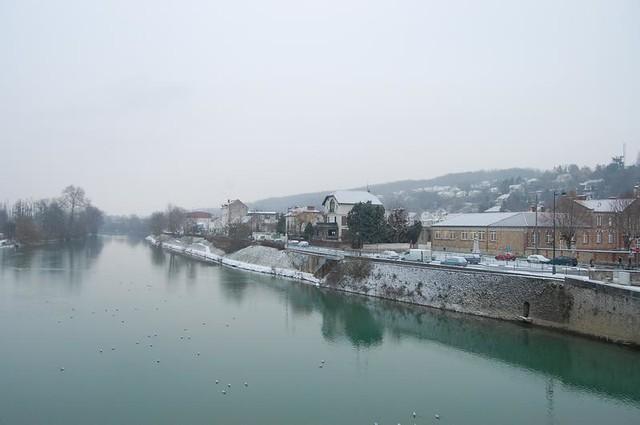 Dsc 6245 bords de marne enneig s vu du pont de l 39 europe for La ferte sous jouarre piscine