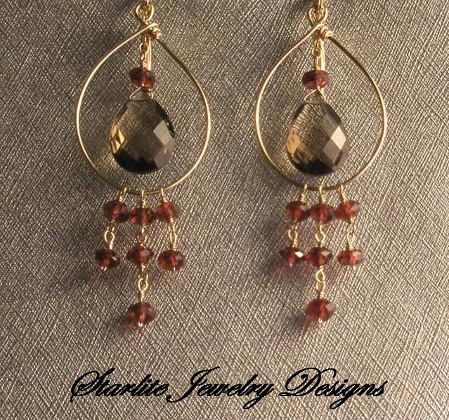 Starlite Jewelry Designs Briolette Earrings Handmade J Flickr