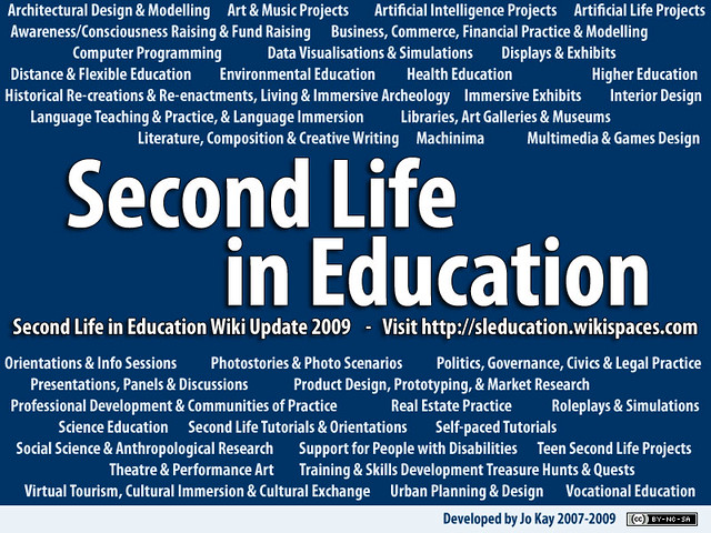 Educational Uses of Second Life 09