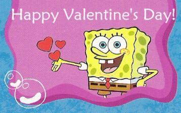 Happy Valentineu0027s Day From Spongebob! | Tomo_moko | Flickr
