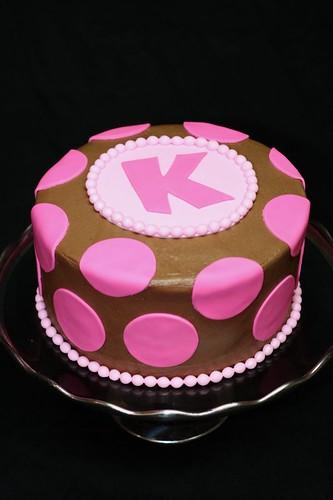 Pink Polka Dot Chocolate Cake Flickr Photo Sharing