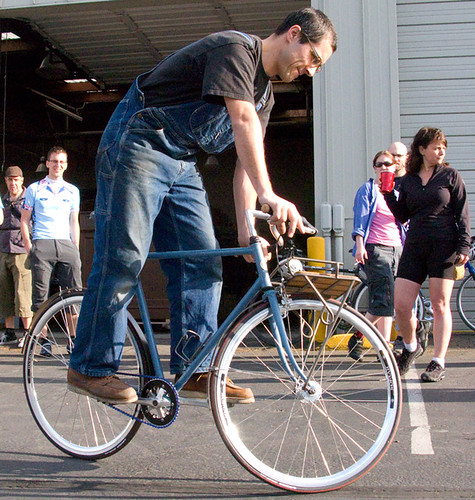 MoSo Seattle: Trackstand Overalls | by Hugger Industries