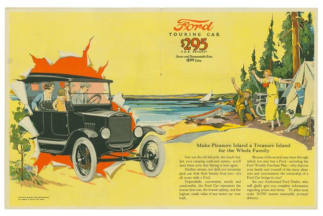 1924 ford model t brochure  1923