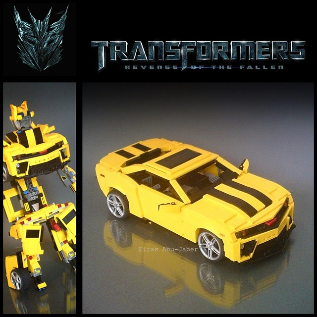 Lego Transformable Camaro Bumblebee See More On