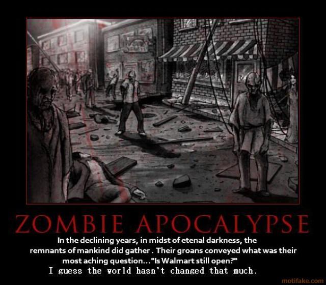The Zombie Apocalypse >> Zombie Apocalypse Walmart Scenario   Mavado Van Wye   Flickr