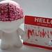 "Custom ""Brain"" mini munny"
