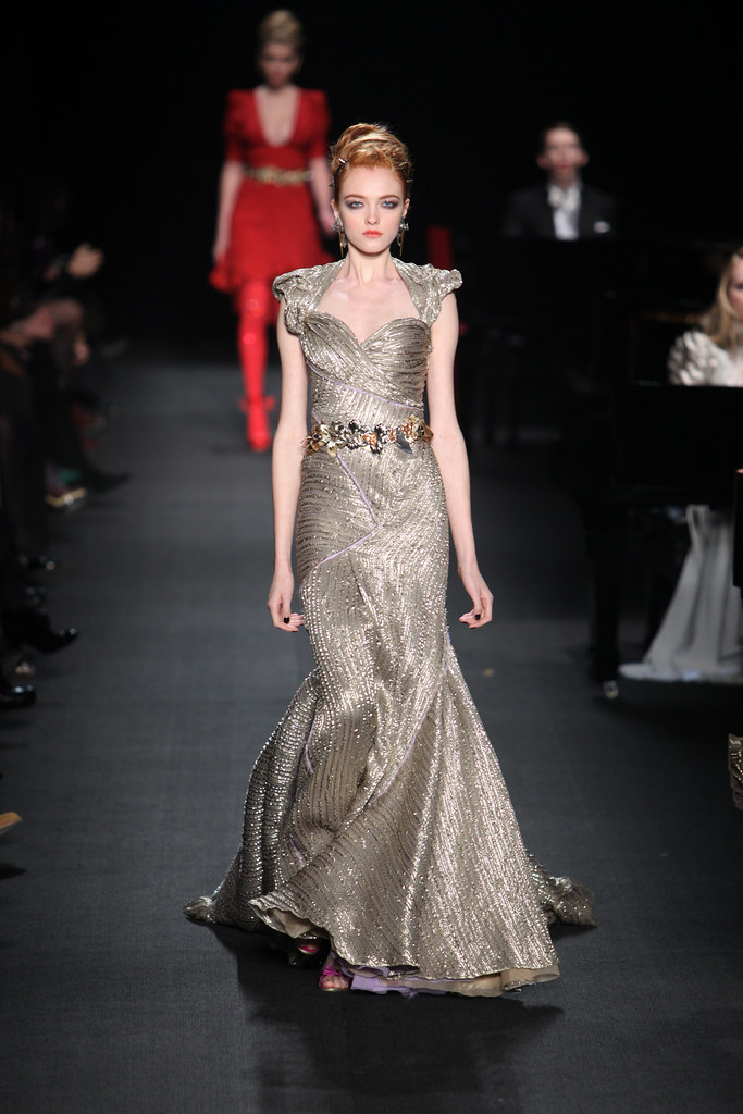 Zac Posen Fashion Show