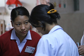 Medical staff at Pokhara Regional Hospital | by World Bank Photo Collection