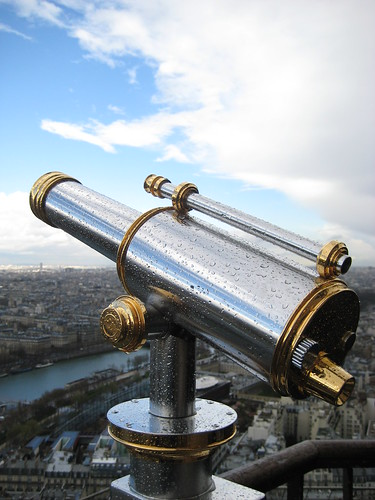 Eiffel Tower Telescope | by Jose and Roxanne