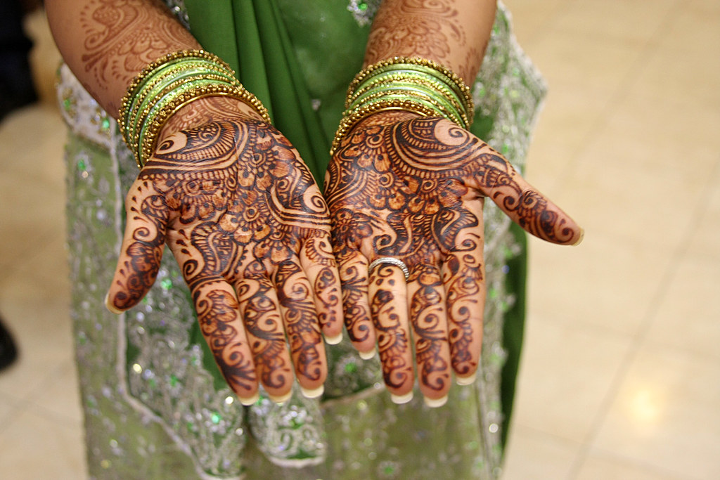 Henna Tattoos For An Indian Wedding