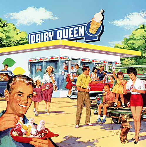 Part of a 1960 Dairy Queen magazine ad   Thought this ...