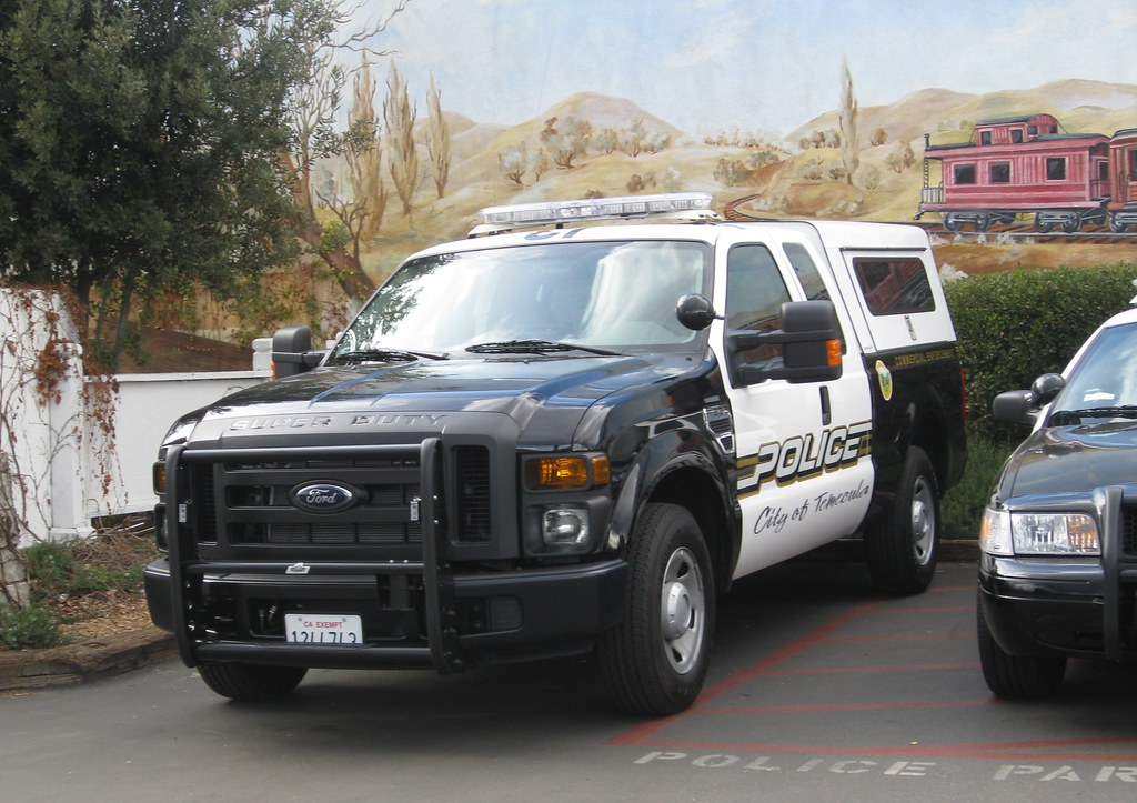Police Ford F350 Commercial Vehicle Enforcement 2009