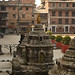 A courtyard in Kathmandu
