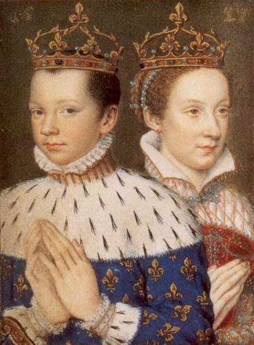 Mary, Queen of Scots, with her husband, King Francis II of France | by lisby1