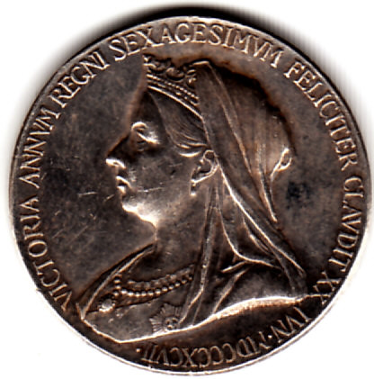 Great Britain - Silver Coin, 1837 - 1897 Queen Victoria
