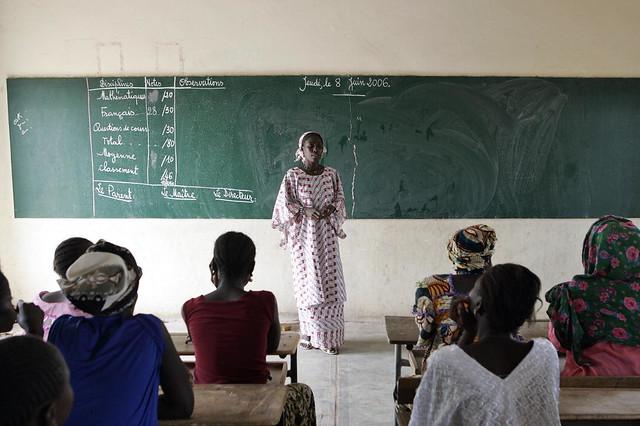 Women In Rural Community Of Senegal Attend Classes Flickr