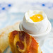 """Soft Boiled Eggs with Toast """"Soldiers"""" and Pancetta Chips 4"""