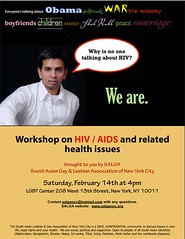 HIV/AIDS workshop - Feb 14th | by salganyc