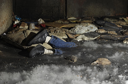 911 Dead Bodies Pictures Frozen dead body