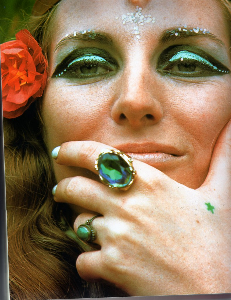 Beautiful 1970 S Makeup Photo Rossvanderh Flickr