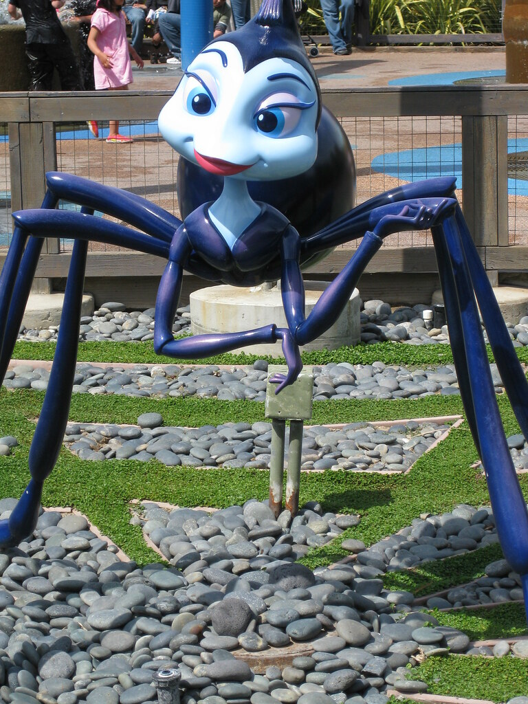 It is a photo of Epic Spider From Bugs Life
