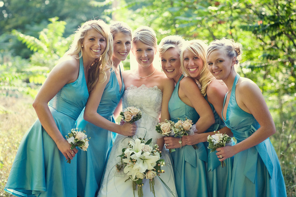 Wedding Photography Flickr: Bridal Party Wedding Flowers By Beikmann Associates
