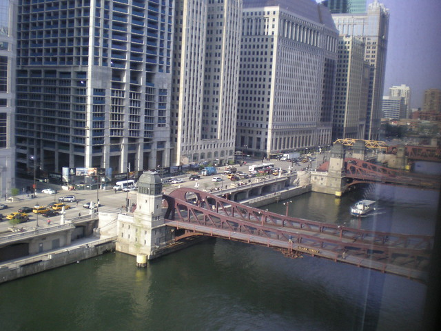 View from westin river north hotel in chicago looking to for Hotel right now in chicago