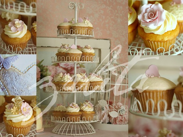 carrie underwood wedding cake picture shabby chic wedding cupcakes more pics from last 12411