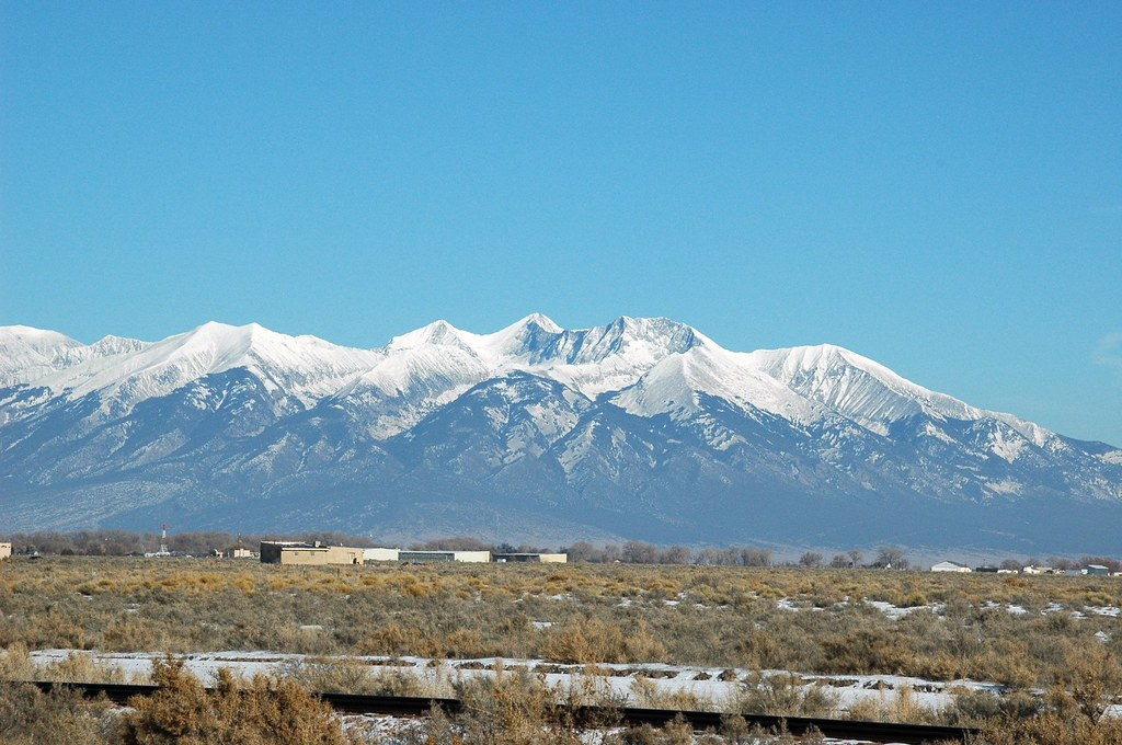 Mt Blanca Alamosa County Colorado Slv Native Flickr