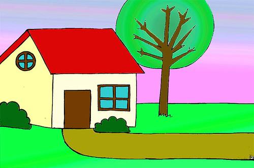 Casita sendero flickr photo sharing for Casita de plastico para jardin