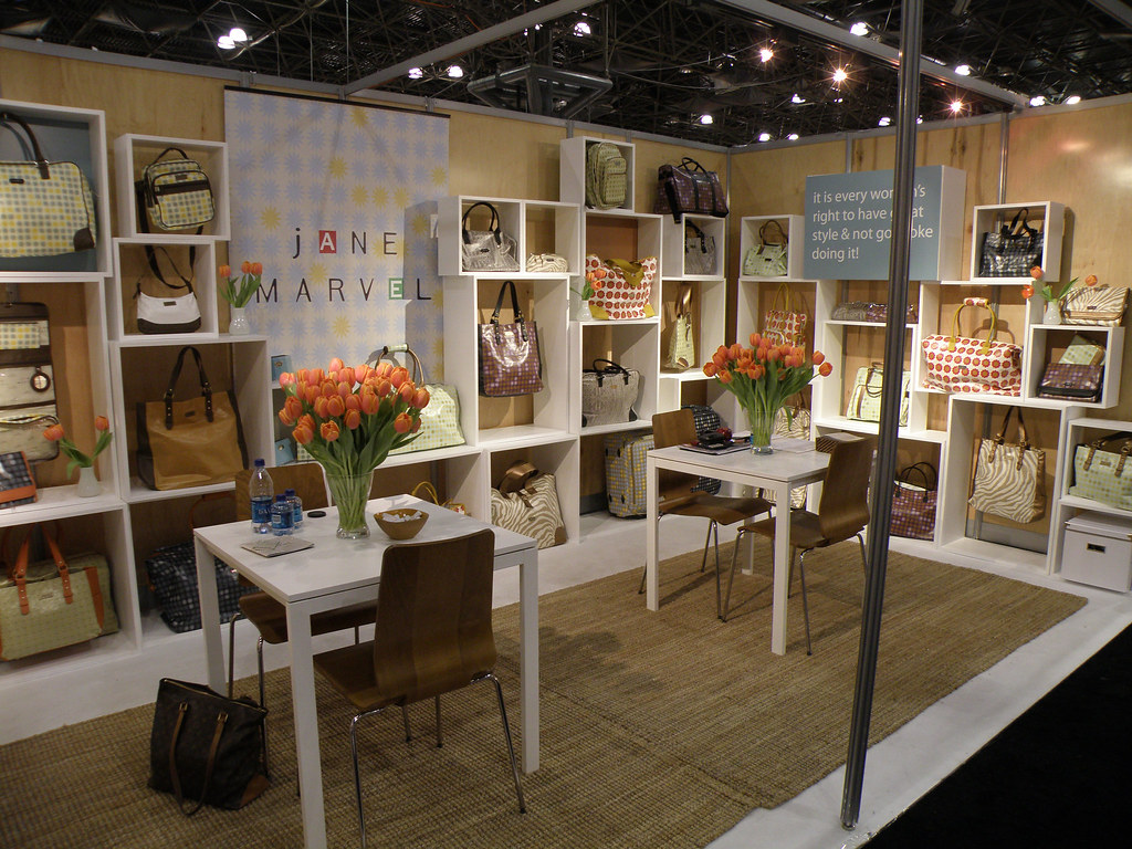 Trade Show Booth Jane Marvel Trade Show Booth At The