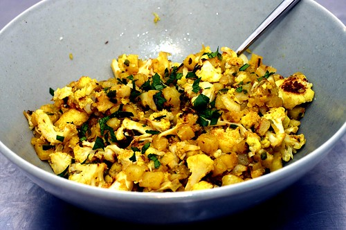 indian spiced cauliflower and potatoes | by smitten kitchen