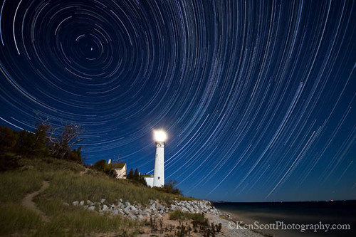 South Manitou Island Light is relit after 50 years in dormancy. | by Ken Scott