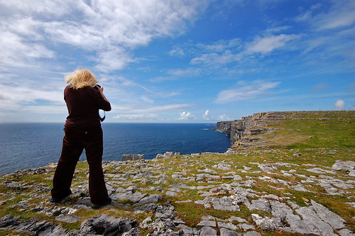 Debbie shoots Inishmore, Aran Islands. | by Irishstones